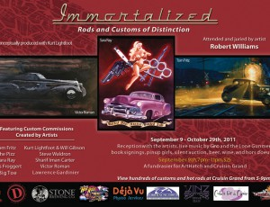 IMMORTALIZED: SEPT 9, 7-11pm